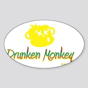 Dark T-shirt Sticker (Oval)